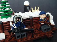 Winter WWII (4) (BrickinNick) Tags: world winter 2 germany war lego wwii german allies brickarms