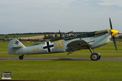 G-BWUE - 223 - Historic Flying Ltd - Hispano HA.1112-M1L Buchon - 100905 - Duxford - Steven Gray - IMG_7114