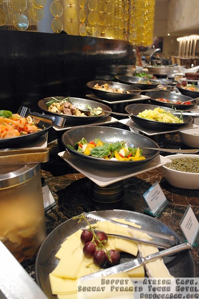 Buffet at Atrium, Sunway Pyramid Tower Hotel-32