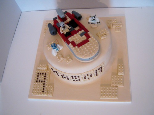 Lego Star Wars Cake by Cake Maniac