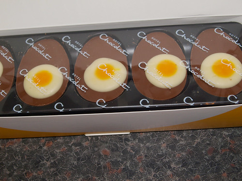 Hotel Chocolat Egg & Soldiers