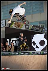 Mitch - Tuck No Hand ( YariGhidone ) Tags: park lighting street light bike torino jump nikon bmx ranger photographer shot flash contest bikes mini 45 skatepark cycle bici info salto trick turin luce nord quadra rampa elinchrom yari moncalieri salti strobist d700 nikond700 ghidone yarighidone