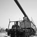 Railroad gun front