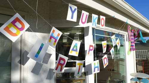 yuko birthday party