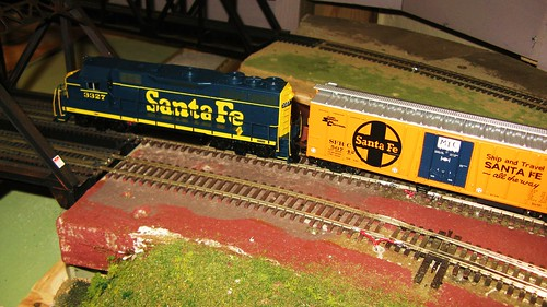 The Oak Park Society of Model Engineers H.O Scale Model Railroad Club.  Oak Park Illinois USA. Early April 2011. by Eddie from Chicago