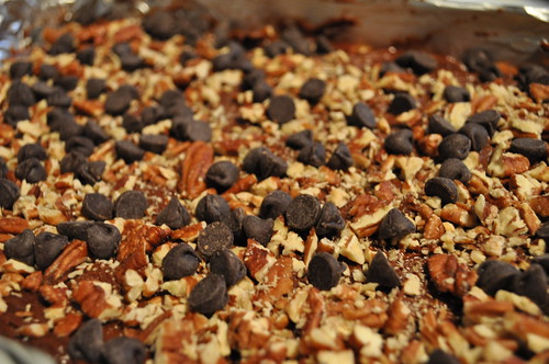 Caramel-Filled Brownies