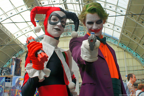 Kapow! Comic Con : Cosplay - Harley Quinn & Joker by Craig Grobler