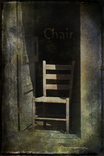 C is for chair