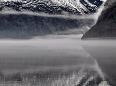 Monochromatic? (ystenes) Tags: lake norway fog reflections norge 1001nights innsj magiccity nordfjord hornindal hornindalsvatnet mygearandme mygearandmepremium mygearandmebronze mygearandmesilver mygearandmegold musictomyeyeslevel1 flickrstruereflection1 flickrstruereflection2 flickrstruereflection3 flickrstruereflection4 flickrstruereflection5 rememberthatmomentlevel1