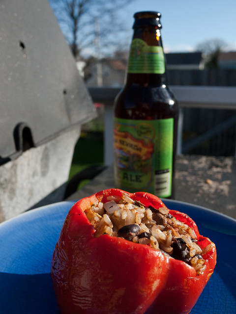Stuffed Pepper, With Beer
