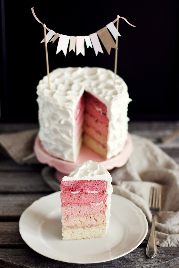 Foodie Friday – Gorgeous Pink Rainbow Cake
