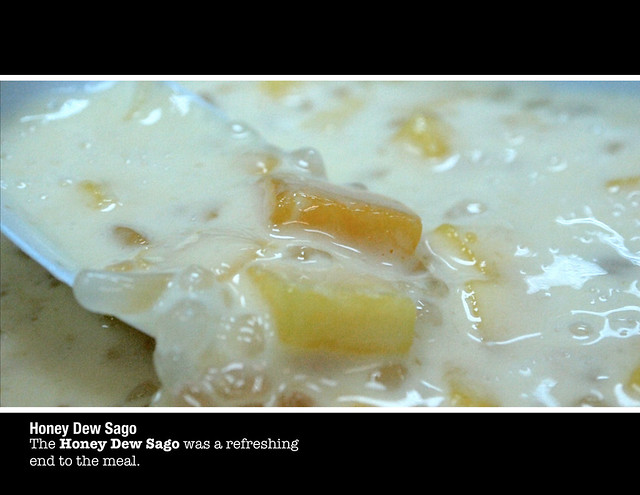 Honey Dew Sago