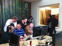 Coworking Dortmund: Gestelltes Foto für die Presse