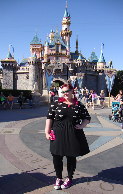 Disneyland Day 1: That's My Castle