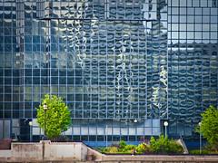 Strange Reflections (garryknight) Tags: reflection building london window canon powershot creativecommons lightroom sx220hs