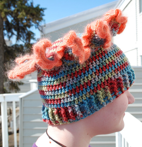Experiment - nudibranch hat