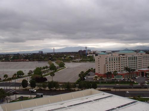View from the Hyatt Regency, Santa Clara, CA April 2011 by suzipaw