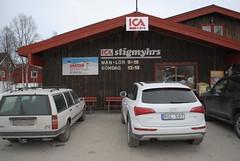 Audi Q5 på Ica Stigmyhrs