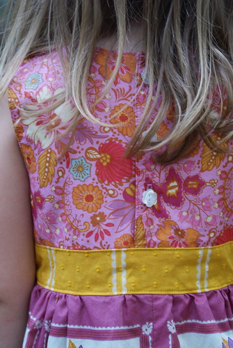 Little Folks Easter Dress Back