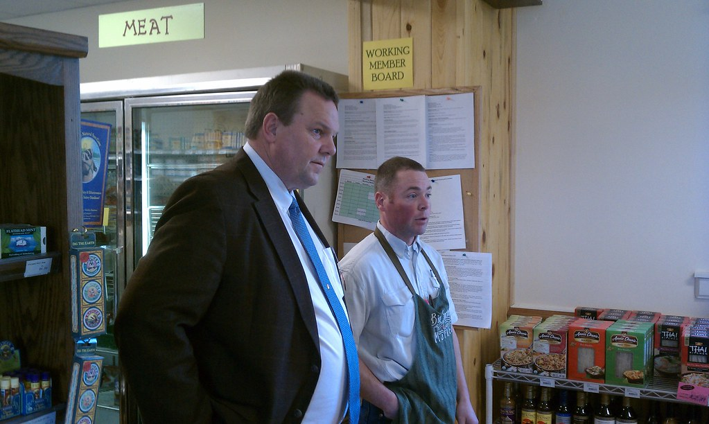 Jon Tester and Derek Manseau