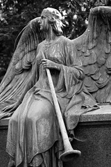 Melaten Cemetery / Cologne (michael_hamburg69) Tags: city bw sculpture friedhof monochrome cemetery female angel dark geotagged ange cologne skulptur köln photowalk nrw sw monochrom engel nordrheinwestfalen boneyard figur cimitero scultura cimetière plastik melaten lindenthal weiblich camposanto кладбище melatenfriedhof friedhofmelaten aachenerstrase weinsbergstrase piusstrase geo:lat=50939592 geo:lon=691669