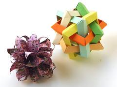 Conar 24 and SIS (Aneta_a) Tags: origami ow planar polyhedron polyhedra modularorigami octahedralsymmetry polypolyhedra lukasheva ekaterinalukasheva owsunit edgeunit