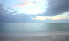 Stormy Clouds (Cole Schmitt) Tags: sunset storm beach sunshine clouds canon cool colorful warm gloomy state florida angry mixture humid nokomis hoya 1755 xti ndx400