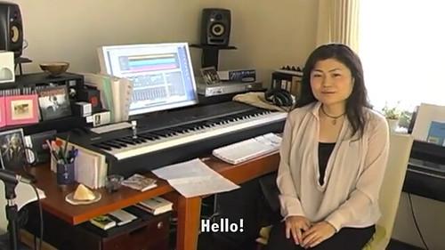 Michiru Yamane in her Studio
