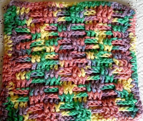 Crocheted Dishcloth #2