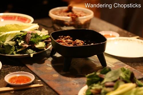 10 Thit Nai Xao Xa Cuon Banh Trang (Vietnamese Sauteed Lemongrass Venison Rice Paper Rolls) 2