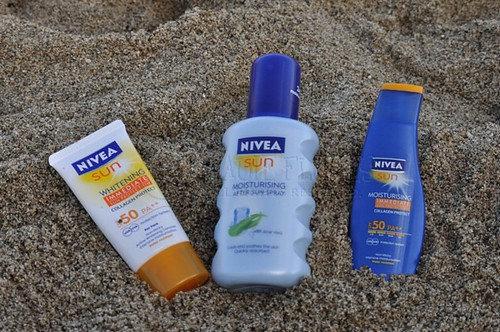 Nivea Sun protection line