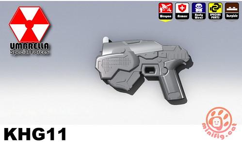 Custom minifig KHG11 custom minifig gun