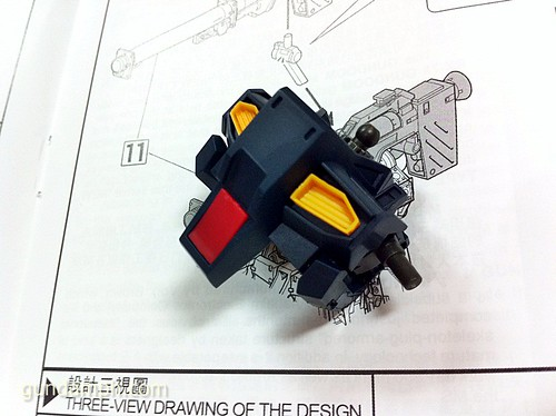 Building MC RX-93 Nu Gundoom Gundam (5)