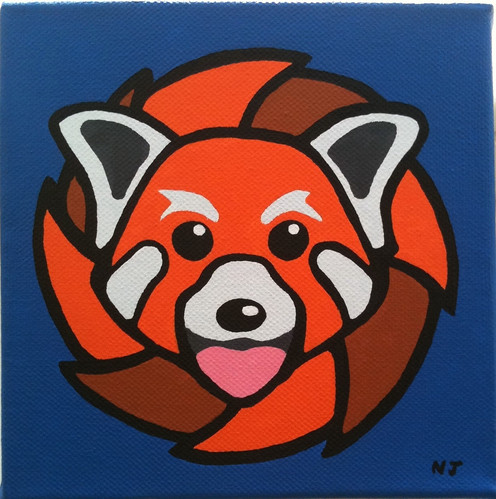 Red Panda by idoru45