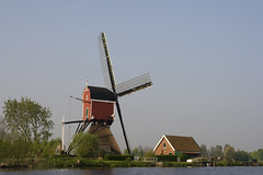 sailing through the centre of Holland (dirk huijssoon) Tags: holland sailing delta riverdelta rhinedelta