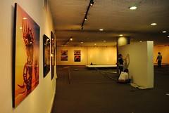 Montaje exposiciones X Festival Internacional de la Imagen