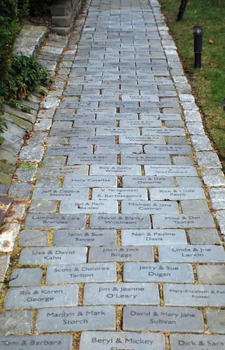 Memory Stone Walkway