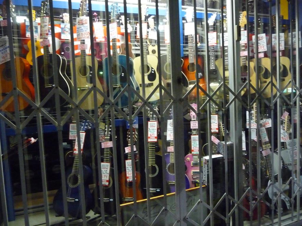 Guitars under tabs
