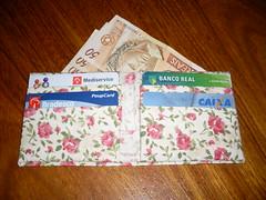 Carteira em origami (Atelie Rosália Klaus) Tags: origami patchwork em klaus tecido ateliê rosália