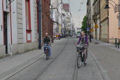 Biking in Wroclaw