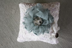 IMG_9296 (jewelboxballerina.com) Tags: blue white flower green glass project bride diy beads ballerina box lace sewing gray silk velvet creme pillow bands lilac fabric howto download instant instructions ribbon weddings cloth satin offwhite tutorial weddingrings jewel ringpillow weddingpillow jewelboxballerinacom
