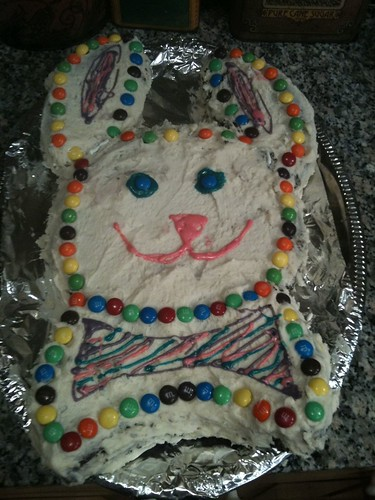 easter bunny cake recipe. Easter Bunny Cake