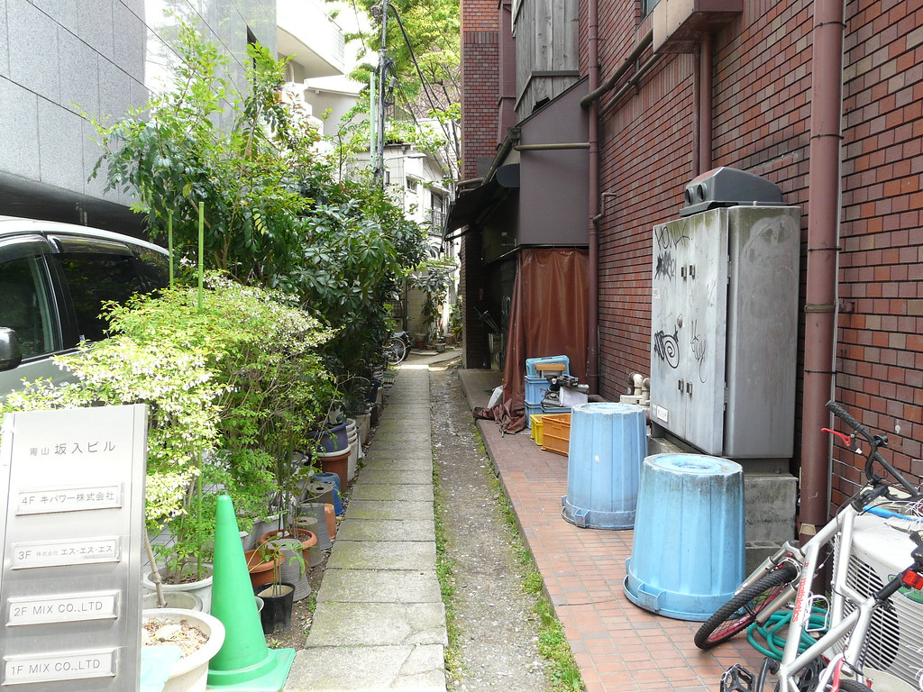 Lush Potted Alley