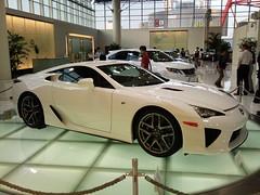 Lexus LF-A. Toyota Megaweb. Odaiba (Araiguma Rascal) Tags: japan tokyo toyota odaiba lfa lexus megaweb