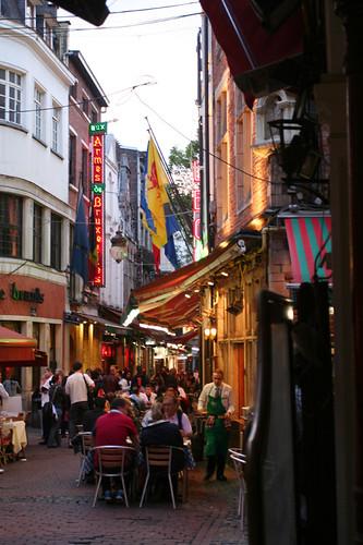 restaurant alley