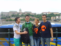 Italians, the Budapest castle and the Danube!