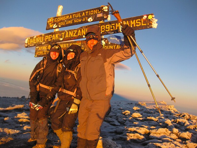 KEEN Fans on Summit of Mount Kilimanjaro