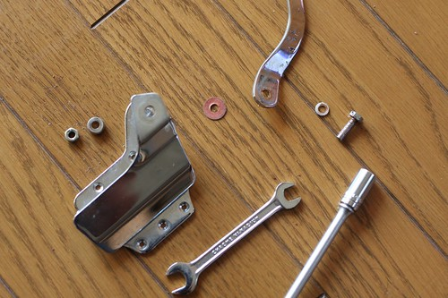 Disassembled TEISCO SP-62 tremolo unit