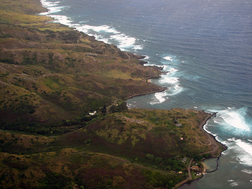 Moloka'i from above (2)