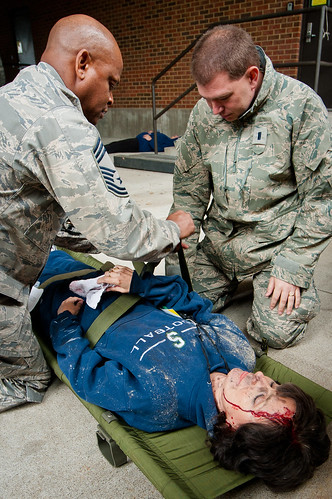 123rd Medical Group trains in National Level Exercise
